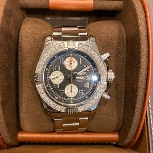 Breitling Super Avenger Tungsten Gray Dial Watch